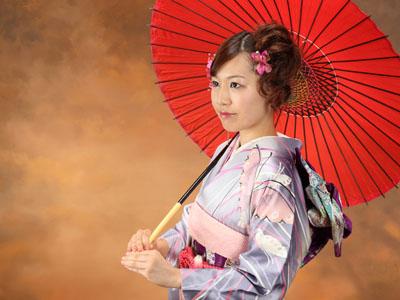 秋田の成人式 スタジオ撮影 振袖 前撮り ミチヨさん