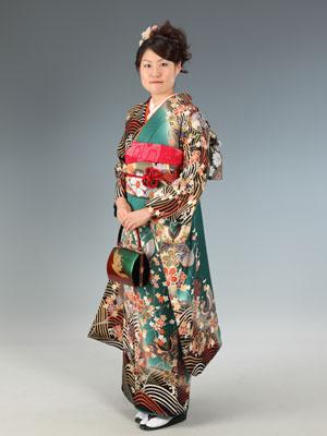 秋田の成人式 スタジオ撮影 振袖 前撮り マキさん