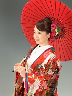 秋田のブライダルフォト スタジオ撮影 写真だけの結婚式 ユウタ&キョウコさん2