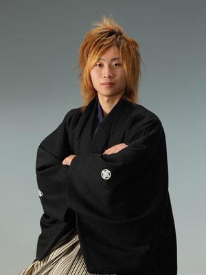 秋田の成人式 スタジオ撮影 羽織袴 後撮り ダイキさん