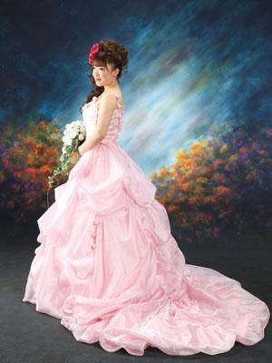 秋田の成人式 スタジオ撮影 ドレス ユカさん