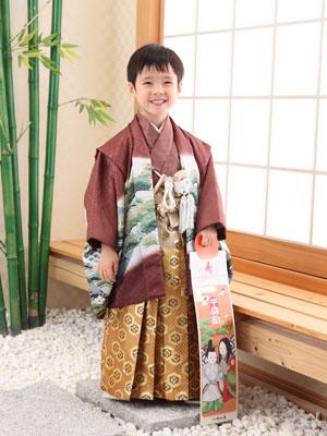 秋田の七五三 スタジオ撮影 3&5歳 マナちゃん&ケイダイくん2