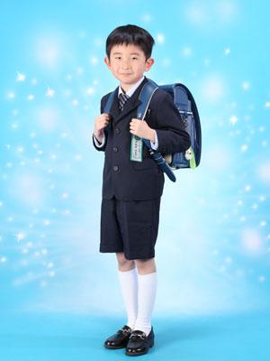 秋田の入園入学写真 スタジオ撮影 入園小学入学 ハルキ