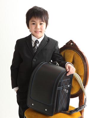 秋田の入学写真 スタジオ撮影 小学入学 リピーター イツキ