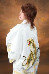 秋田の成人式 スタジオ撮影 羽織袴 男性
