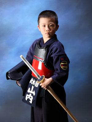 その他撮影 スタジオ撮影 8歳誕生日 剣道着