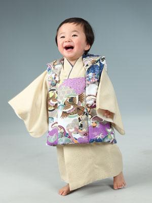 秋田のベビーフォト スタジオ撮影 1歳誕生日 タケルくん