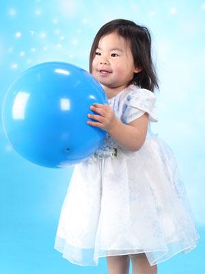 秋田のベビーフォト スタジオ撮影 2歳 誕生日