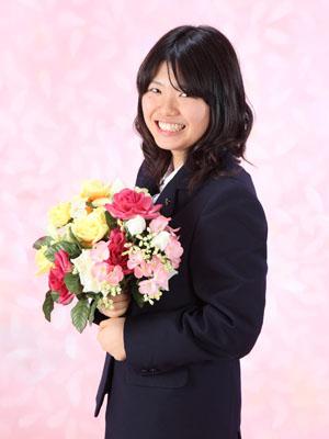 秋田の卒業写真 スタジオ撮影 高校卒業 制服姿