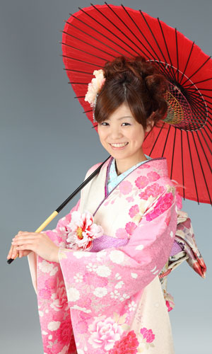 秋田の成人式 スタジオ撮影 振袖 前撮り ショウコさん