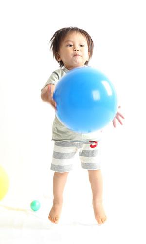 秋田のベビーフォト スタジオ撮影 赤ちゃんポスター展2010夏 タイゾウくん