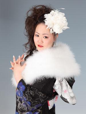 秋田の成人式 スタジオ撮影 振袖撮影 前撮り ミサキさん