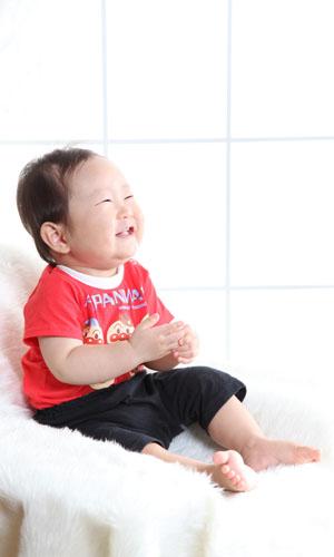 秋田のベビーフォト スタジオ撮影 赤ちゃんポスター展2010夏 マサトくん