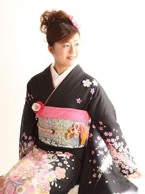秋田の成人式 スタジオ撮影 振袖 前撮り アユミさん