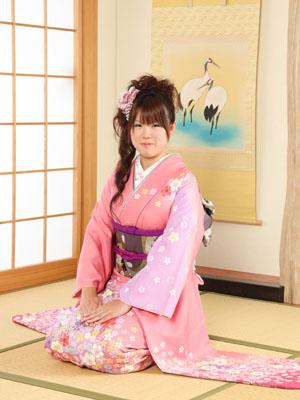 秋田の成人式 スタジオ撮影 振袖 前撮り ユキさん