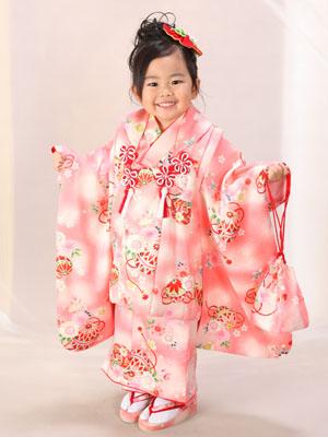 秋田の七五三 スタジオ撮影 3歳 写真だけの七五三 リンちゃん