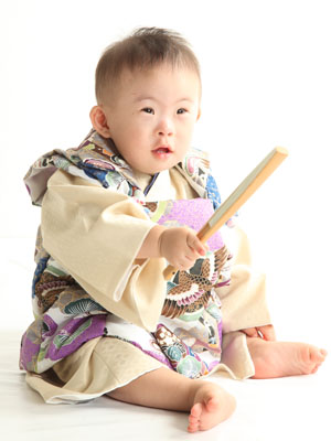 秋田のベビーフォト スタジオ撮影 赤ちゃんポスター展2011夏 タクミくん