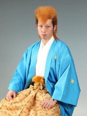 秋田の成人式 スタジオ撮影 羽織袴 前撮り カズマさん
