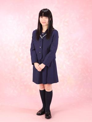 秋田の入学写真 スタジオ撮影 高校入学 ユウキさん
