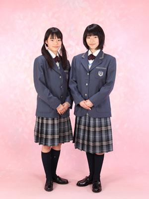 秋田の入学写真 スタジオ撮影 中学入学 ミホさん