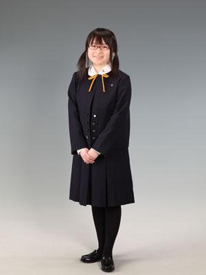 秋田の入学写真 スタジオ撮影 高校入学 ユナさん
