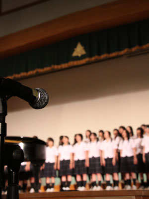 秋田の卒業アルバム スクール撮影 高校合唱コンクール