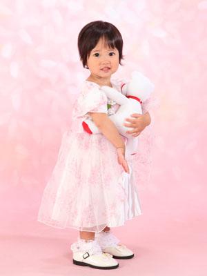 秋田の七五三 スタジオ撮影 3&5歳 マナちゃん&ケイダイくん1