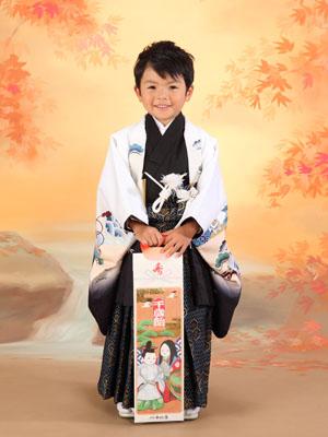 秋田の七五三 スタジオ撮影 5歳 トムくん1