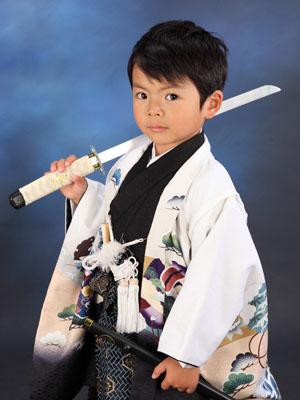 秋田の七五三 スタジオ撮影 5歳 トムくん2