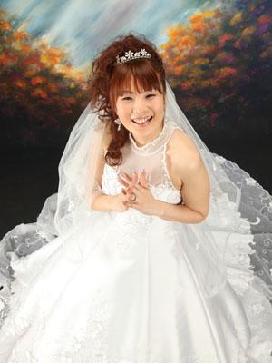 秋田のブライダルフォト スタジオ撮影 写真だけの結婚式 トモヤ&アヤノさん