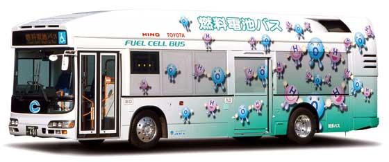 燃料電池バス
