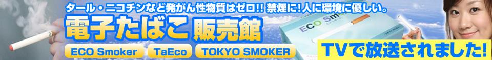 電子タバコ「TaEco」(タエコ)/スーパーシガレット 最新日本版/TOKYO SMOKER(トウキョウスモーカー)/ECO Smoker(エコスモーカー)激安販売館 『Eco jinon』