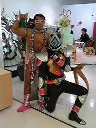 スイーツ☆マッスルさんと一緒にbpにて^^