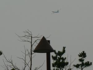 離陸するジェット