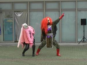 タレちゃん&クイーン登場^^;