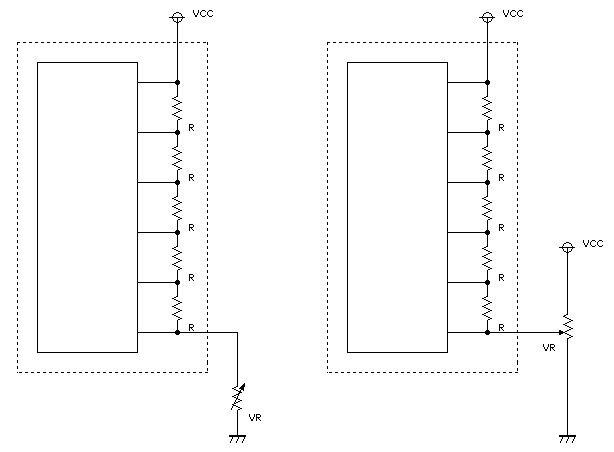LCDのコントラスト2