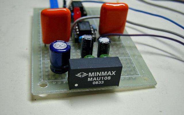 状態変数型発振回路写真2