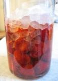 苺の甘酢漬け