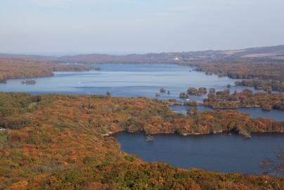 大沼の秋1 031