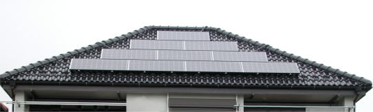 太陽光発電2.10KWの写真