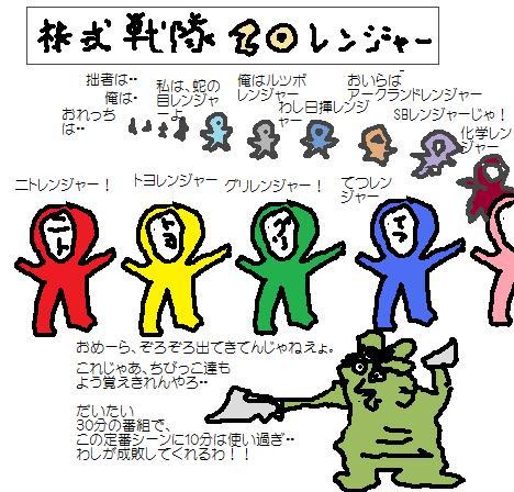 株式戦隊20レンジャー
