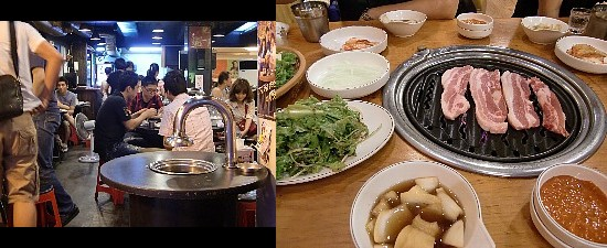 野菜の種類は少なめだが肉で勝負のお店。分厚くって美味しかった~