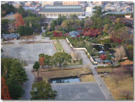 駿府公園ジオラマ