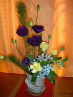 お正月の生け花2