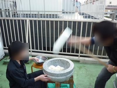 草ふえ_餅つき大会_05