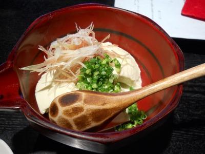 松原庵_すくい豆腐
