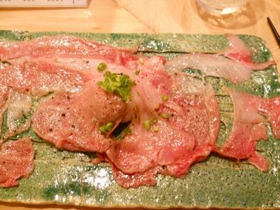 肉寿司_牛サシトロ