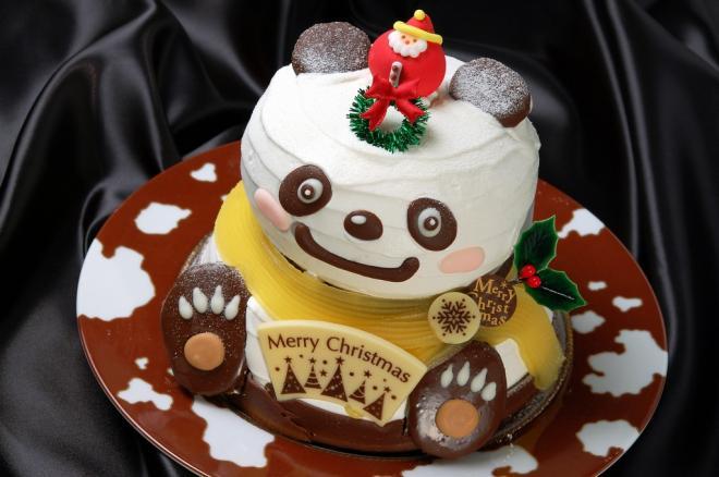 「パンダも夢見るクリスマス」って名前はワタクシが付けました・・・