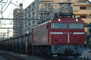 5781レ EF81-91+コタキ13 上尾-北上尾