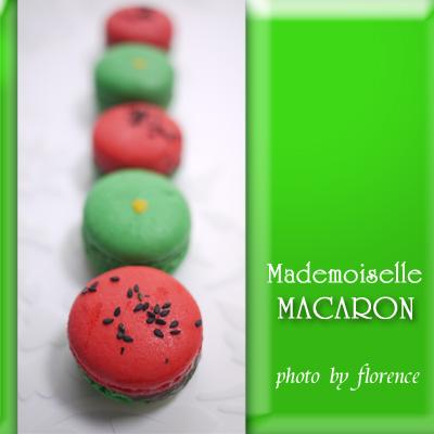 マドモアゼルマカロン100903
